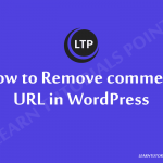 How-to-Remove-comment-URL-in-WordPress
